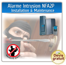 Alarme intrusion nfa2p installation maintenance