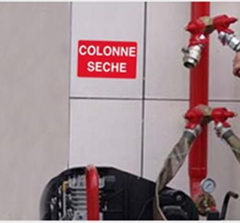 Colonne seches