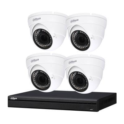 Kit de vidéosurveillance enregistreur + 4 caméras dôme - 1080p - Dahua