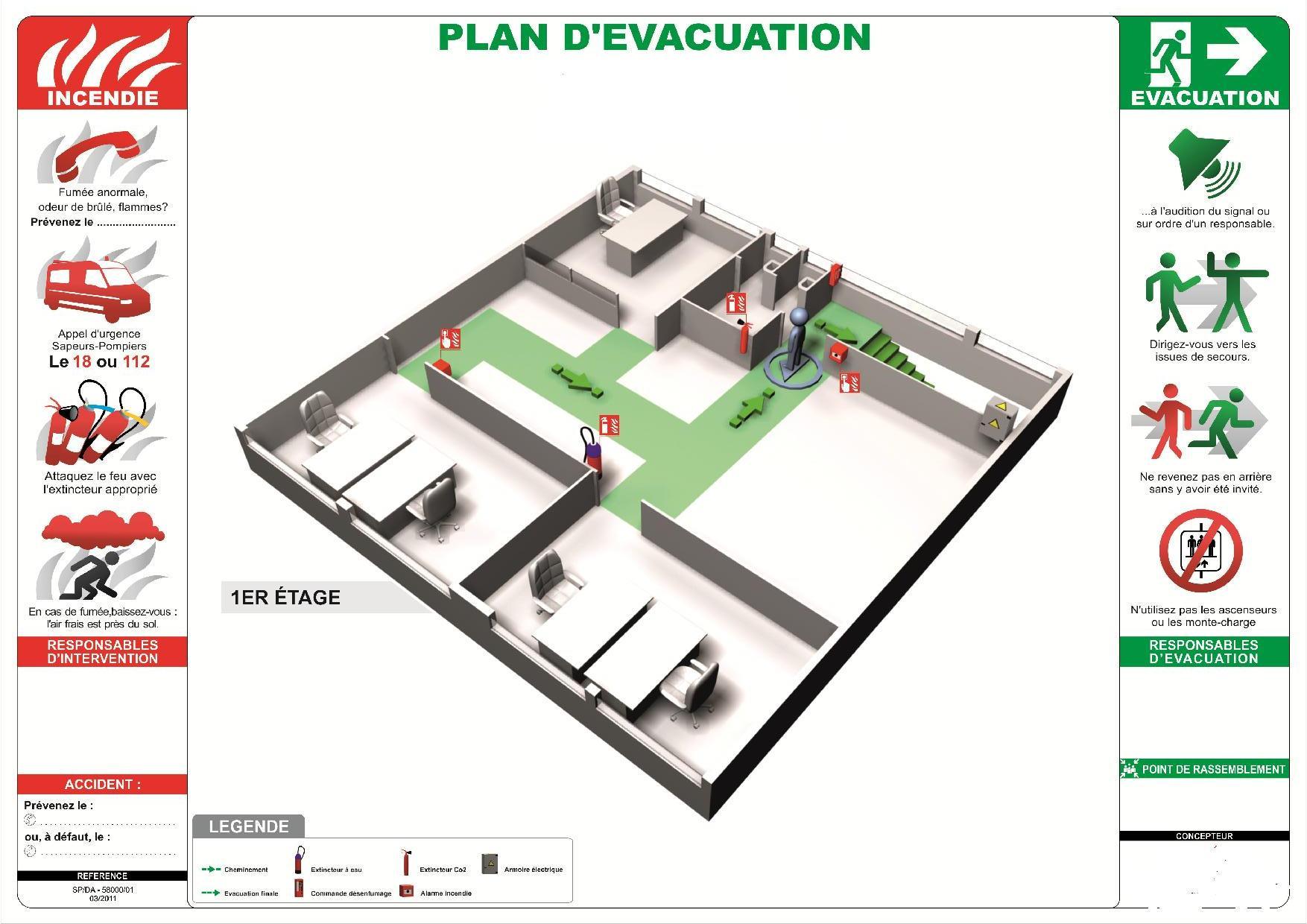 Plan d evacuation 2862298