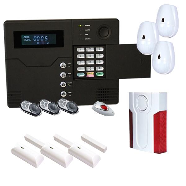 Alarme sans fil gsm maison et sirene exterieure